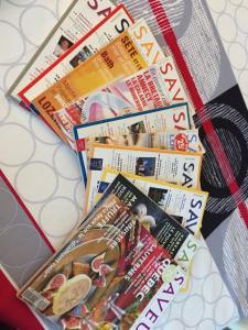 Lot de magazine SAVEURS