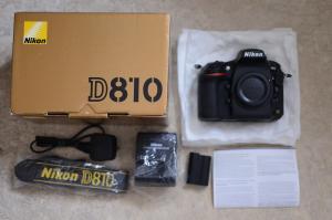 Nikon D D810 36.3MP Appareil Photo Reflex Numérique-Noir