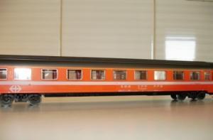 Marklin Ho 4162 wagon express EUROFIMA,
