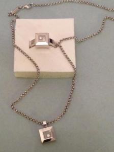 Bague et collier avec pendentif Chopard