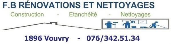 F.B Rénovations et Nettoyages - Petites annonces